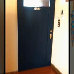 サインプレート/リフォーム/ドア/フォロー大歓迎/わたしのごはん/風景/... 室内ドア♪  工事完了致しました!  サ…