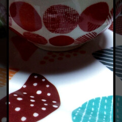 Seria/お茶碗/暮らし/100均/100均グッズ/最近買った100均グッズ/... Seriaにて。  可愛いご飯茶碗を買い…(1枚目)