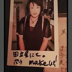 想い出/make/ポラロイド写真/おしゃれ/夏ファッション 懐かしいポラ発見!  昔、松本にある田立…