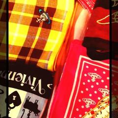アレンジ/ヴィヴィアンウエストウッド/ストラップ/チャーム/スカーフアレンジ/bag/... ヴィヴィアンのbagにつけようと思ってる…