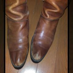 お直し/ブーツ/フォロー大歓迎/おでかけ/住まい/はじめてフォト投稿 zuccaのブーツがお直しから戻ってきま…(2枚目)