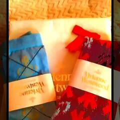 靴下/ヴィヴィアンウエストウッド/フォロー大歓迎/おでかけ/住まい/ファッション/... ヴィヴィアンの靴下が届きました♥♪  こ…