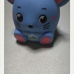 干支/ねずみ/銀行/貯金箱/雑貨/おでかけ/... 銀行に記帳しに行ったら、  ネズミちゃん…