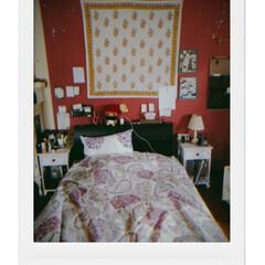 Tokyoインテリア サイドチェス.../インテリア/家具/セミダブル/Light/サイドチェスト/... 私の部屋のbed周りです…  壁にかけて…