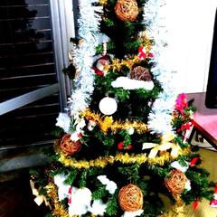 入院生活/クリスマスツリー/クリスマス 病院のクリスマスツリー🎅🏻 大きい方のや…(1枚目)