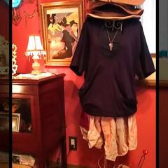 ショッピング/お買い物/変形/カットソー/zucca/トルソーのある部屋/... こちらもzucca♥♪  ネイビーの変形…
