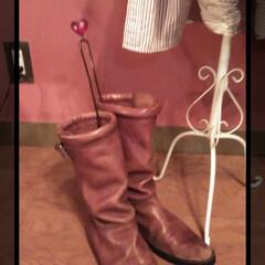 お直し/ブーツ/フォロー大歓迎/おでかけ/住まい/はじめてフォト投稿 zuccaのブーツがお直しから戻ってきま…(1枚目)