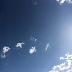 空/雲 今日も朝から暑かったあ 夜勤明けで、朝か…