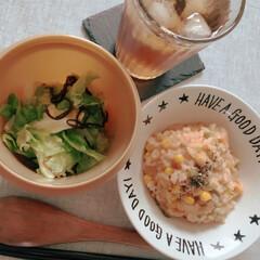 料理/キャベツ/リゾット 旬なキャベツを使ってトマトキャベツ、コー…