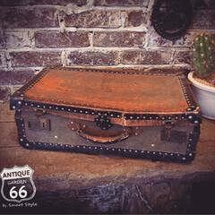 おもちゃ箱/スーツケース/アンスタカタログ/アンスタ/旅行鞄/アメリカンヴィンテージ/... 🇺🇸アメリカ買付け とても古いペーパート…