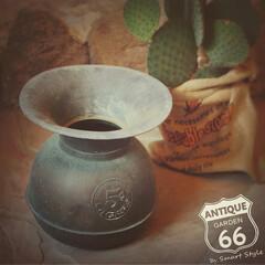 アメリカンヴィンテージ/花瓶(フラワーベース)/花瓶/真鍮/アンティークショップ/アンティークスタイル/... 🇺🇸アメリカ買付け 真鍮のヴィンテージS…