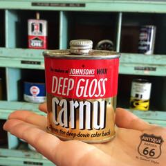 手のひらサイズ/アメリカ買付/コレクターズアイテム/非売品/サンプル品/ヴィンテージ缶/... 🇺🇸アメリカ買付 『Deep Gloss…