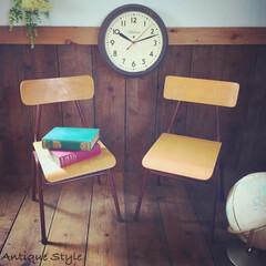 双子椅子/キッズルーム家具/アンティークショップ/アンスタカタログ/アンスタ/アンティークスタイル/... 🇺🇸アメリカ買付け …だけど フランスア…