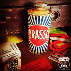 コレクション/BRASSO/ビンテージ缶/アンスタカタログ/アンスタ/アンティークスタイル/... 🇺🇸アメリカで見つけた Brasso (…