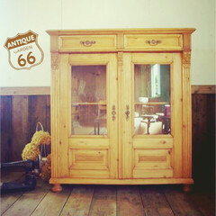カップボード/ヴィンテージ家具/アメリカンビンテージインテリア/キャビネット/木製キャビネット/ドロワー/... 🇺🇸買付 アメリカ製ヴィンテージ家具。 …