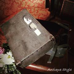 ペーパーボックス/アンティークボックス/メールボックス/アンスタカタログ/アンスタ/アンティークスタイル/... 🇺🇸アメリカ買付 とても古いペーパーBO…