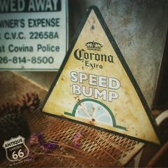アメリカ買付/三角/コロナビール/星の王子様/アメリカンヴィンテージ/標識/... 🇺🇸アメリカ買付 「SPEED BUMP…