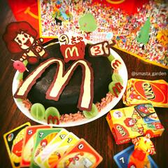 ガトーショコラ/オーダーケーキ/佐藤家ーキ/手作りケーキ/ハンドメイド/マックケーキ/... ❾さいのお誕生日  リクエストケーキが …