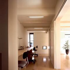 デスク/ワークスペース/品川 この勉強コーナーは、かつては廊下だった場…