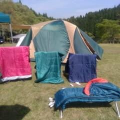 熊本/キャンプ/アウトドア/寝袋/わたしのGW 熊本の井無田高原キャンプ場に2泊3日ファ…
