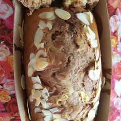 手作りマーブルパンケーキ