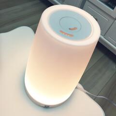Franfran/フランフラン/アロマ加湿器 ピンクっぽいライトがお気にいり♡