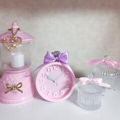 大好きなピンク♡/パステルカラー/パステルピンク/左の2つはハンドメイド/世界にひとつだけ/なんかダサくてすみません 全部自分でリボンを付けました♡