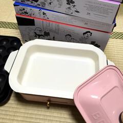 ホットプレート/BRUNO/ブルーノホットプレート/大好きなピンク ブルーノのホットプレート5枚セットを購入…