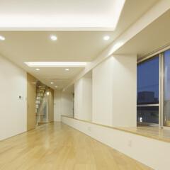 店舗/二世帯住宅/変形敷地/三角形/線路 一続きの部屋は、 必要に応じて、 所々で…