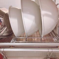 クリナップキッチン/暮らしを整える/暮らし/野田琺瑯/キッチン/収納 普段使いのボウルの収納はここ。ここはキッ…