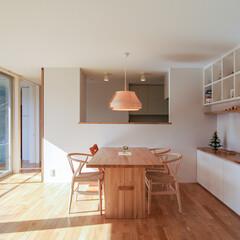 オープンキッチン キッチンは、いろいろな物が丸見えにならな…