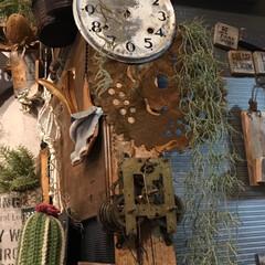 時計盤/リアル錆び/雑貨/雑貨だいすき 時計盤に錆びっちょ刃♡