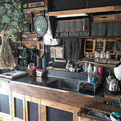 目隠し好き/塩ビパイプ/扉DIY/団地セルフリノベーション/DIY/キッチン 我が家のキッチン! 古い団地のキッチンを…