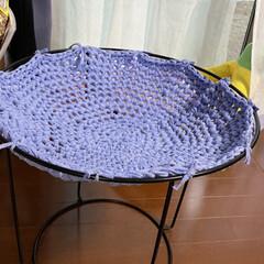 植木鉢/手編み/毛糸/にゃんモック/ねこ 嫁が作った手編みのにゃんモック。 取り合…(5枚目)