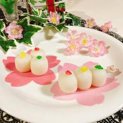 業務スーパー/さくら/ダイソー/Seria/お米/大福/... ひな祭り~🎎🌸 いがまんじゅう(いがもち…(1枚目)