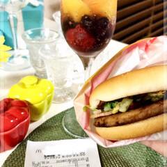 炭酸水/冷凍フルーツ/おすすめアイテム/フォロー大歓迎/LIMIAファンクラブ/至福のひととき/... マックのベーコンマックポーク🍔 Yaho…