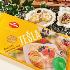 ミッフィー/チョコクリーム/カスタードクリーム/冷凍パイシート/業務スーパー/まな板/... 業務スーパー冷凍パイシート ミッフィー(…(4枚目)