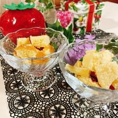 盛るだけいちごケーキ/食べればいちごケーキ/チョコレート/生クリーム/アミカ/スポンジシート/... いちごのお花が咲きました~🍓 ❀.(*´…(6枚目)