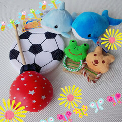 おもちゃ/ダイソー/ペット ダイソーでねるチャン🐶のおもちゃまとめ買…