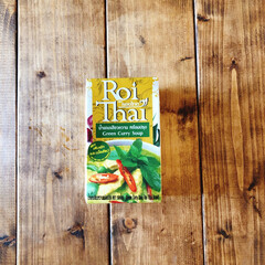 おうちごはん/ランチ/簡単/カルディ/時短レシピ/ラク家事/... KALDIのロイタイのグリーンカレー。 …