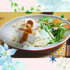 無印良品/ベトナム料理/カオマンガイ/わたしのごはん/おうちごはんクラブ/グルメ/... 無印良品のカオマンガイのセットで作ってみ…