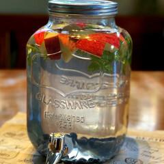 果物水 夏にバテない為に、水分を摂取してますが、…