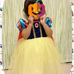 ハロウィン/仮装/白雪姫 白雪姫になりきってます