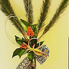 てづくり/お正月/お正月飾り お正月飾りをつくりました。 祝儀袋の水引…(1枚目)