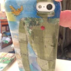 マスキングテープ/スマホケース/ジブリ/ハンドメイド アイフォンのカメラ部分を見て、ずっと作り…