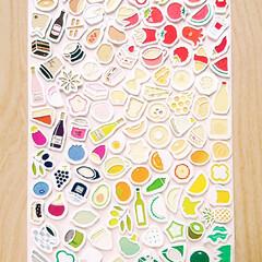 マスキングテープ/切り絵/ちいさなマステ切り絵 カラー切り絵をマスキングテープでやってみ…