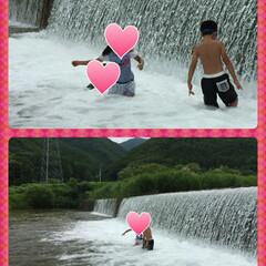 田舎/景色 福島の田舎の ナイヤガラの滝だわ✨ キラ…