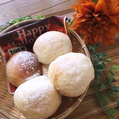 酒粕パン/手作りパン/セリア 酒粕パン  めっちゃフワフワで美味しい〜…