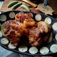 角煮/おつまみ 豚の角煮です。ビールのおともにどうぞ♪