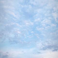 空/カメラ/ファッション さきほど撮ってきたイマソラです☁ 紫外線…
